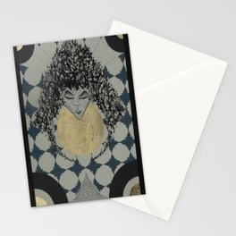Lady. Stationery Cards
