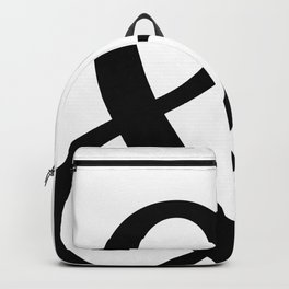 Typography, Ampersand, And Sign Backpack