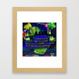 Knightly Night Framed Art Print