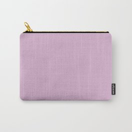 Pink Lavender | Pantone Fashion Color Spring : Summer 2018 | New York and London Solid Color Carry-All Pouch