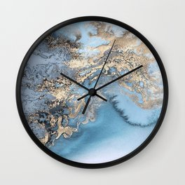 Gold immersion Wall Clock