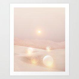 2077 landscape IV Art Print
