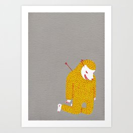 Everything is my fault Art Print