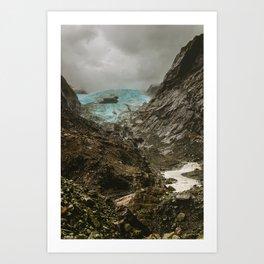 Franz joseph glacier 2 Art Print