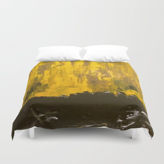 Golden Dream Duvet Cover
