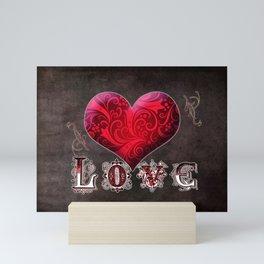 Love is All You Need Mini Art Print