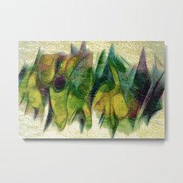Abstract fall colors Metal Print