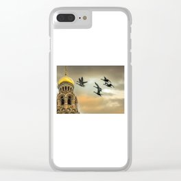Take me to the Golden Domes Clear iPhone Case