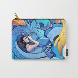 The One Who Sleeps with Dragons Carry-All Pouch