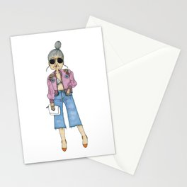 STYLISH GRANNY 5 Stationery Cards