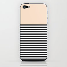 STRIPE COLORBLOCK {CREAM} iPhone & iPod Skin