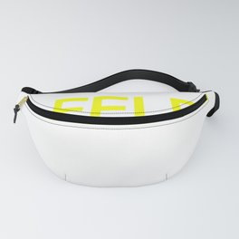 Waffles & Maple Syrup Food Design Fanny Pack