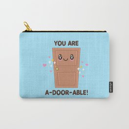 Wood You Be My Valentine? Carry-All Pouch