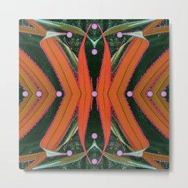 Ribbons of Screw Pine Metal Print
