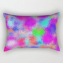 Glassy colors Rectangular Pillow