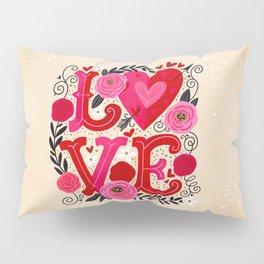 LOVE Letters Pillow Sham