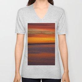 Westside Sunset Unisex V-Neck
