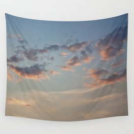 Pastel Sunset Wall Tapestry