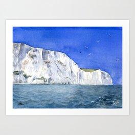 The White Cliffs Art Print