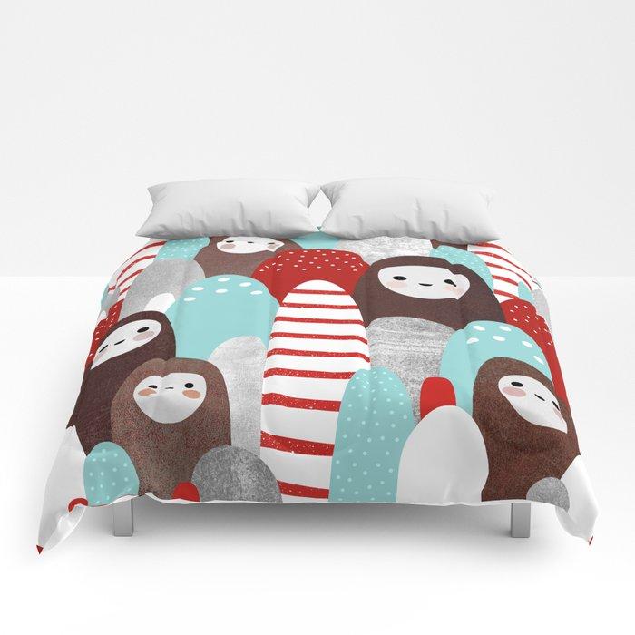 Gingerbread Spirits Comforters