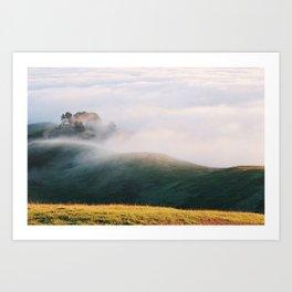 Slow Mist - 35mm Film Art Print