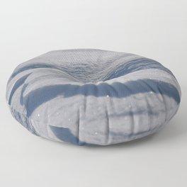 Sparkling Snow Floor Pillow