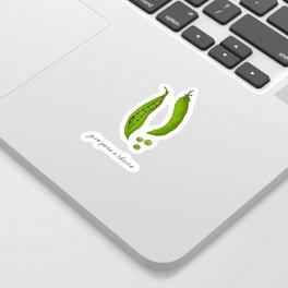Give Peas A Chance, Kitchen Decor Sticker