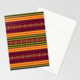 Native American Traditional Ethnic Tribal Indian Motif Pattern Stationery Cards