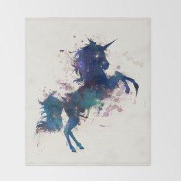 Unicorn Dreams Throw Blanket
