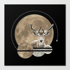 Real. Reindeer. Canvas Print