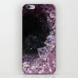 Geode Cave iPhone Skin
