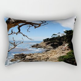 Hello Pacific Ocean - 17 Mile Drive, CA Rectangular Pillow