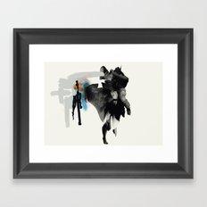 Thought Framed Art Print
