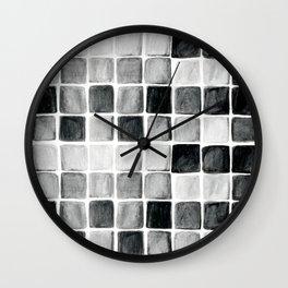 Free Style Grid Wall Clock