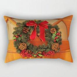 Christmas Wreaths Rectangular Pillow