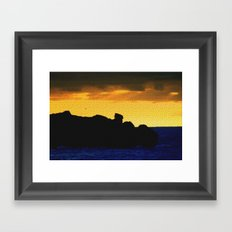 Granite Island Framed Art Print