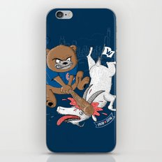 The Goat is Dead! (blue version) iPhone & iPod Skin