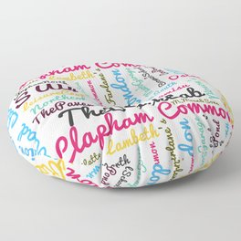 Clapham Common Floor Pillow
