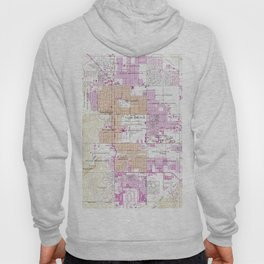 Vintage Map of Palm Springs California (1957) Hoody