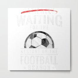 Impatient Soccer New Season Metal Print
