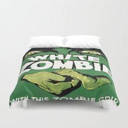 Vintage poster - White Zombie Duvet Cover