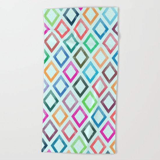 Lovely Pattern V Beach Towel