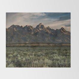 Teton Morning Throw Blanket