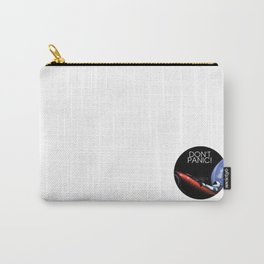 DONT PANIC at space Carry-All Pouch