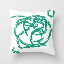 Clover: Accept What Is Throw Pillow
