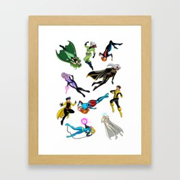 X chics Framed Art Print