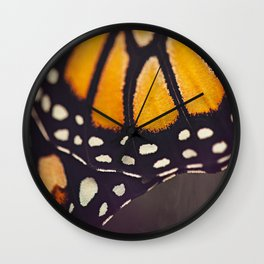 Monarch Study #4 Wall Clock