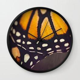 Monarch Study #4 Wall Clock