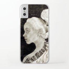 Concubine Clear iPhone Case
