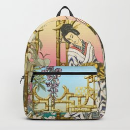 Geishas at the Gate Backpack